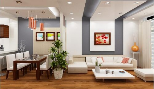 Phối màu sơn phù hợp cho căn nhà